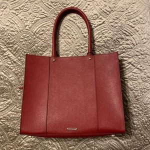 Authentic Rebecca Minkoff medium MAB leather tote.
